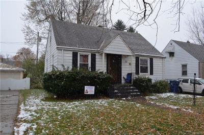 Buffalo Single Family Home A-Active: 341 Hastings Avenue