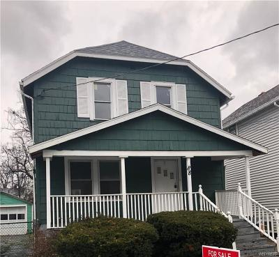 Buffalo Single Family Home U-Under Contract: 88 Dunlop Avenue