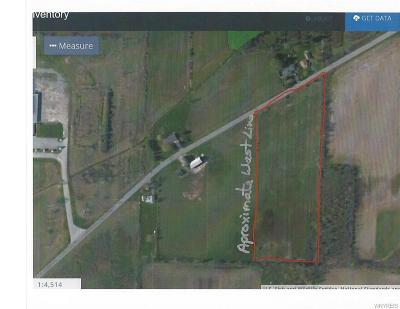 Erie County Residential Lots & Land U-Under Contract: Vl Indian Falls Road