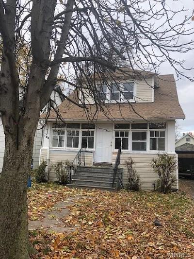 Buffalo Single Family Home A-Active: 120 Elmer Avenue