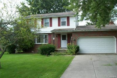 Grand Island Single Family Home U-Under Contract: 345 Colonial Drive