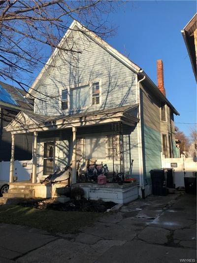 Buffalo Single Family Home A-Active: 595 Fargo Avenue