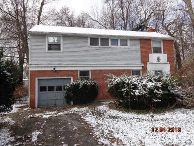 Amherst NY Single Family Home A-Active: $93,600