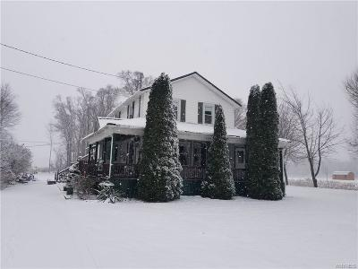 Orleans County Single Family Home A-Active: 2777 Lyndonville Road