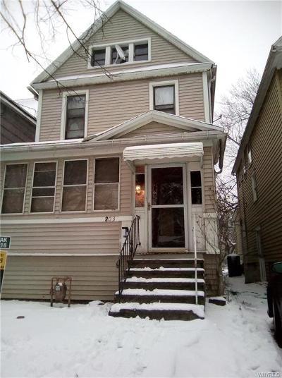 Buffalo Single Family Home A-Active: 203 Congress Street