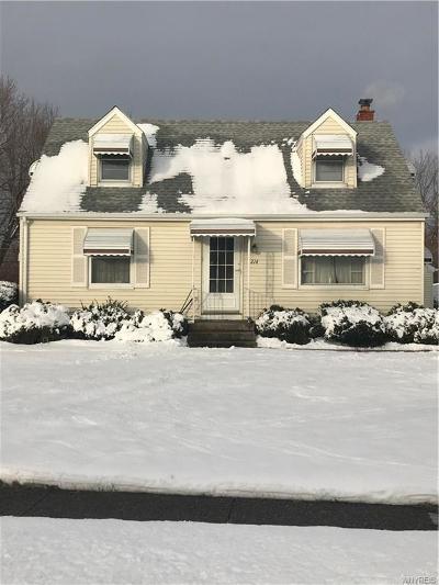 Cheektowaga Single Family Home A-Active: 214 Ellen Drive