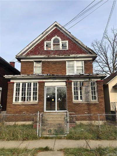 Niagara Falls Single Family Home A-Active: 1879 Pierce Avenue