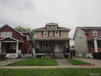 Lackawanna Single Family Home U-Under Contract: 129 Madison Avenue
