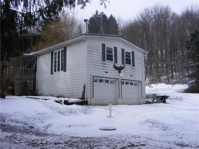 Arcade Single Family Home U-Under Contract: 2723 Route 39