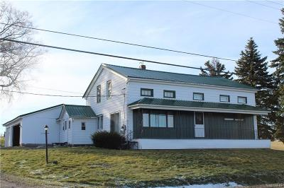 Attica Single Family Home A-Active: 4154 East Main Street Road