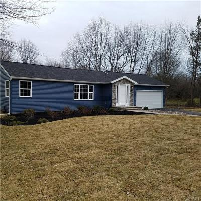 Lewiston Single Family Home Pending: 4534 Porter Center Road
