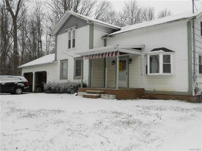 Orleans County Single Family Home U-Under Contract: 16628 Ridge Road