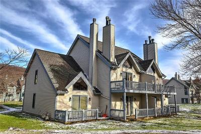 Ellicottville Condo/Townhouse A-Active: 186 Wildflower #186