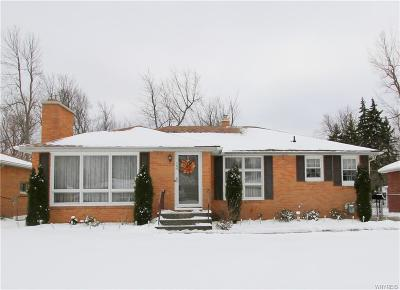 Amherst NY Single Family Home U-Under Contract: $217,900