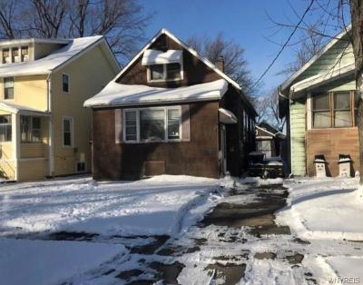 Buffalo Single Family Home U-Under Contract: 172 Amber Street