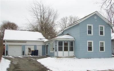 Niagara County Single Family Home A-Active: 44 Pound Street