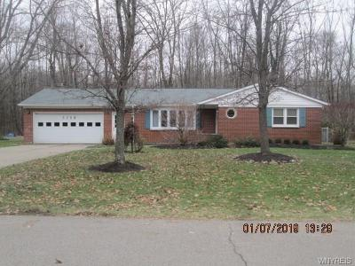 Hamburg Single Family Home U-Under Contract: 3947 North Hampton Brook Drive