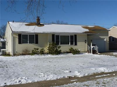 North Tonawanda Single Family Home U-Under Contract: 248 Belmont Court West