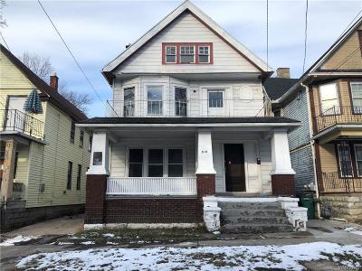 Buffalo NY Multi Family 2-4 U-Under Contract: $32,900