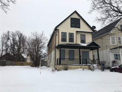Buffalo NY Single Family Home A-Active: $29,900