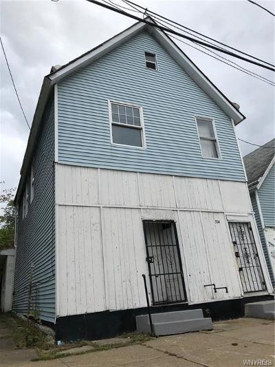 Buffalo NY Multi Family 2-4 A-Active: $39,500