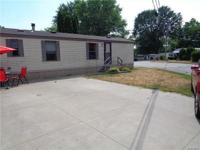 Niagara County Single Family Home A-Active: 3902 Lockport Olcott Lot #30