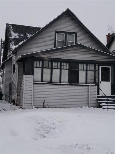 Buffalo NY Single Family Home A-Active: $77,629