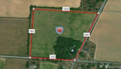 Genesee County Residential Lots & Land A-Active: 7120 Batavia Byron Road
