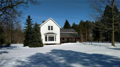 Erie County Single Family Home A-Active: 6483 Schultz Road