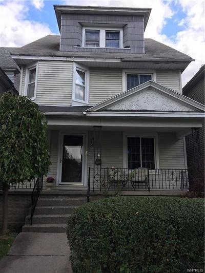 Buffalo Single Family Home A-Active: 265 Hoyt Street