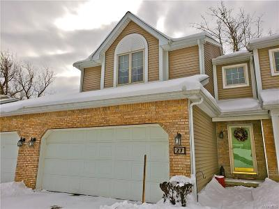 West Seneca Condo/Townhouse U-Under Contract: 27 Gardenville On The