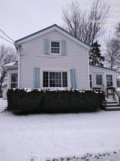 Orleans County Single Family Home C-Continue Show: 112 McKinstry Street