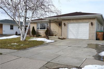 Cheektowaga Single Family Home A-Active: 72 Oakwood Drive