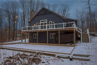 Ellicottville Single Family Home A-Active: 6897 Creek Ridge Road