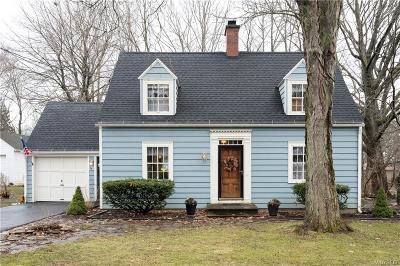 Orchard Park Single Family Home U-Under Contract: 61 North Lincoln Avenue