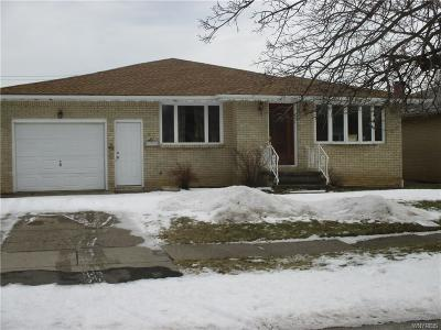 Cheektowaga Single Family Home A-Active: 62 Ellsworth Drive