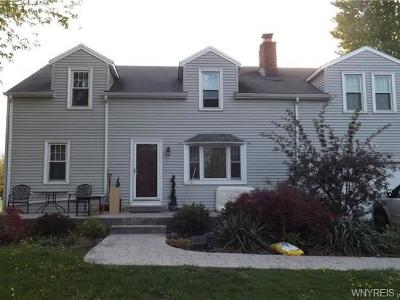 Lewiston Single Family Home P-Pending Sale: 4554 Porter Center Road