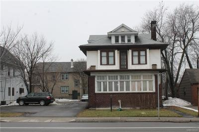Buffalo Single Family Home A-Active: 158 Niagara Falls Boulevard