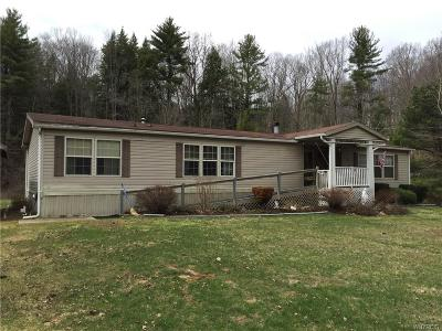 Allegany County, Cattaraugus County Single Family Home U-Under Contract: 7828 Crawford Creek Road