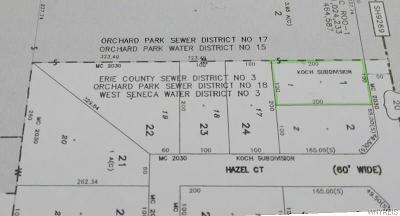 Orchard Park Residential Lots & Land A-Active: 2274 Southwestern Blvd