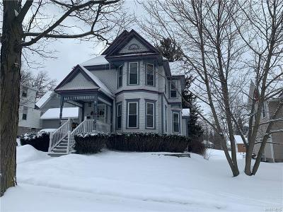 Warsaw Single Family Home U-Under Contract: 44 Elm Street