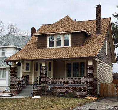 Buffalo Single Family Home U-Under Contract: 659 McKinley Parkway