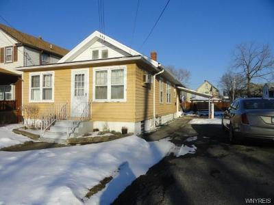 Niagara County Single Family Home U-Under Contract: 611 22nd Street