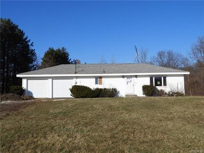 Genesee County Single Family Home U-Under Contract: 929 Sliker Road