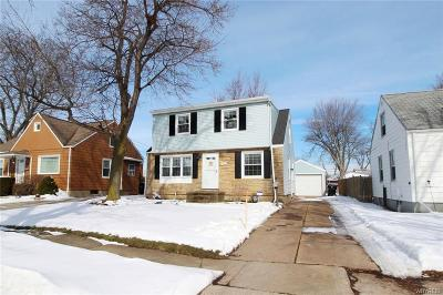 Buffalo NY Single Family Home U-Under Contract: $159,888