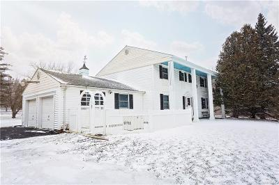 Genesee County Single Family Home A-Active: 10356 Harper Road