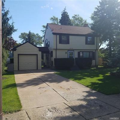 Niagara County Single Family Home U-Under Contract: 3059 Madison Avenue