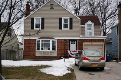 Amherst NY Single Family Home U-Under Contract: $199,000