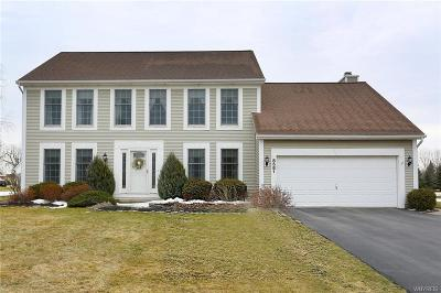 Clarence Single Family Home U-Under Contract: 8581 The Meadows South