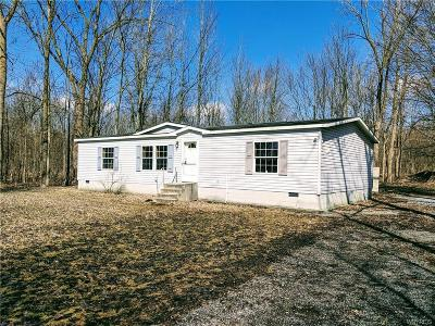 Genesee County Single Family Home U-Under Contract: 747 Main Rd Road